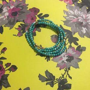 Scout turquoise wrap bracelet